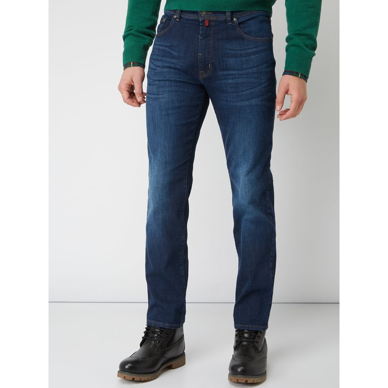 Jeans Sale - Stone Washed Comfort Fit Jeans
