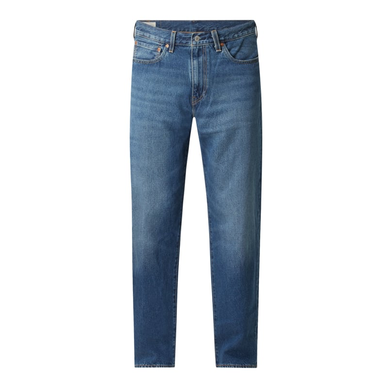 Loose Fit Straight Leg Jeans mit Hanf Anteil Modell 'Stay Loose'