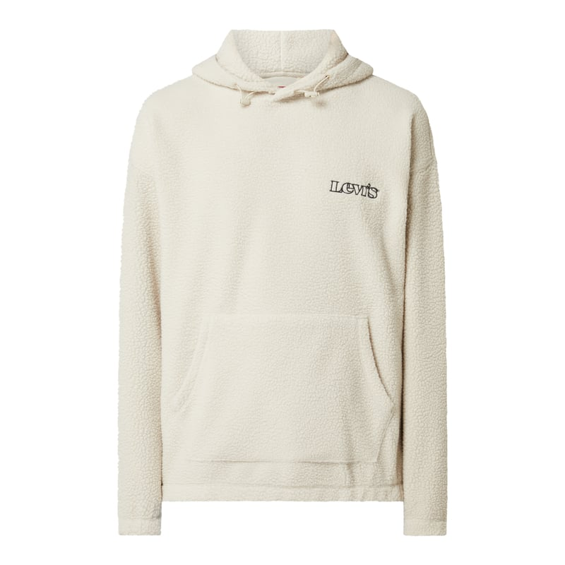 Relaxed Fit Hoodie aus Teddyfell