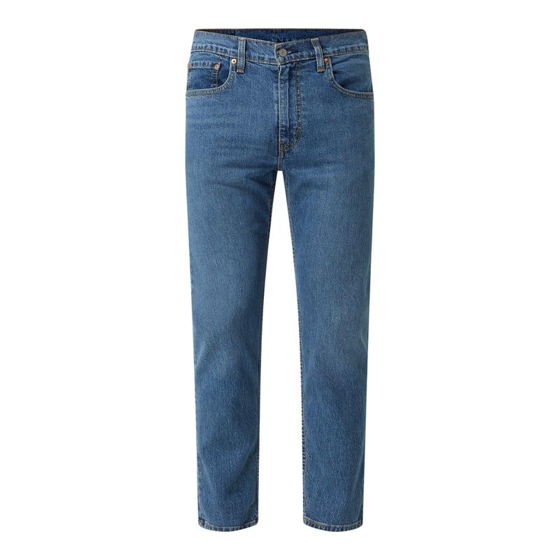 Tapered Fit Jeans mit Stretch Anteil Modell '502 Hi Ball'