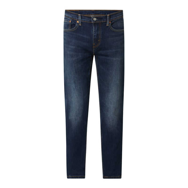Tapered Fit Jeans mit Stretch Anteil Modell '502' 'Water Less™'