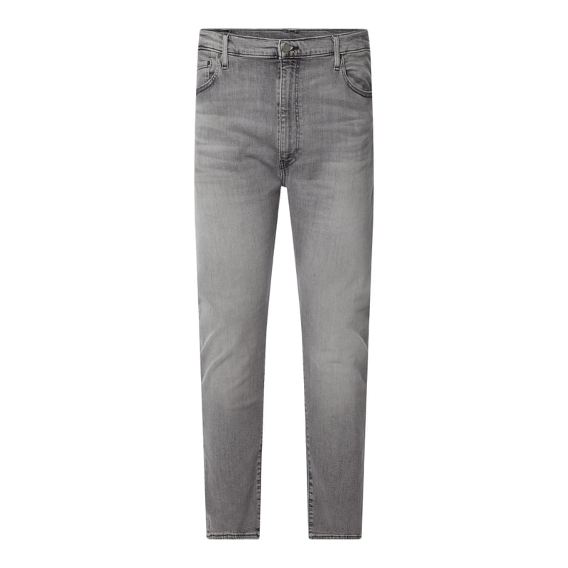 PLUS SIZE Slim Tapered Fit Jeans mit Stretch Anteil Modell '512'