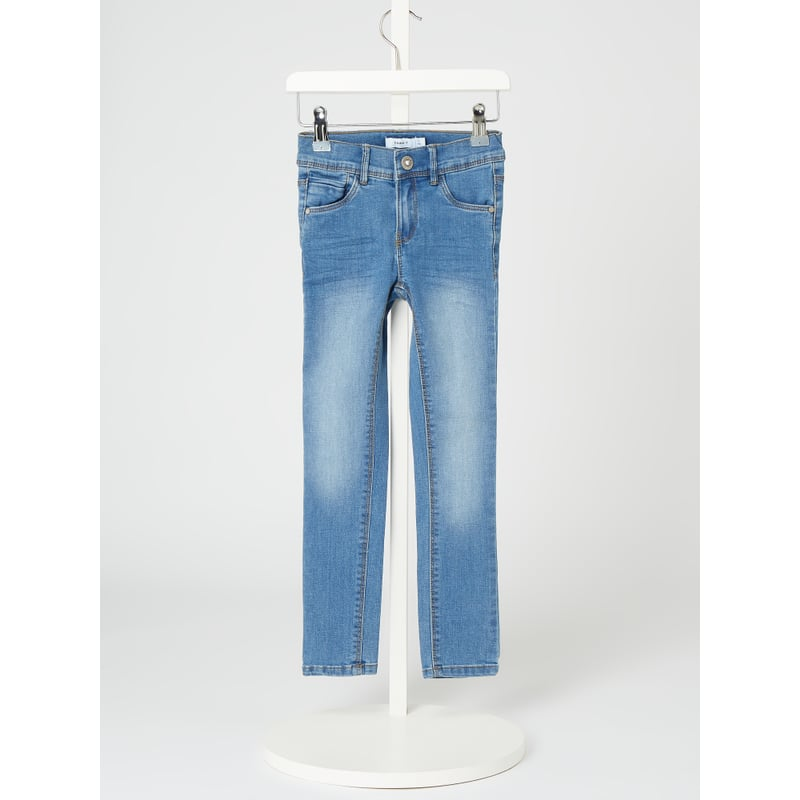 Jeans met stretch, model 'Polly'