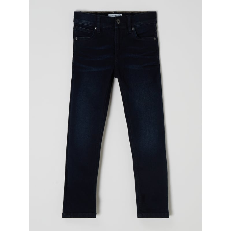 Jeans met stretch, model 'Silas'