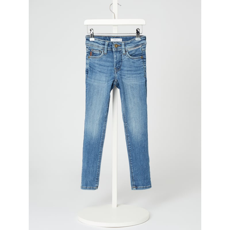 Jeans met stretch, model 'Theo'