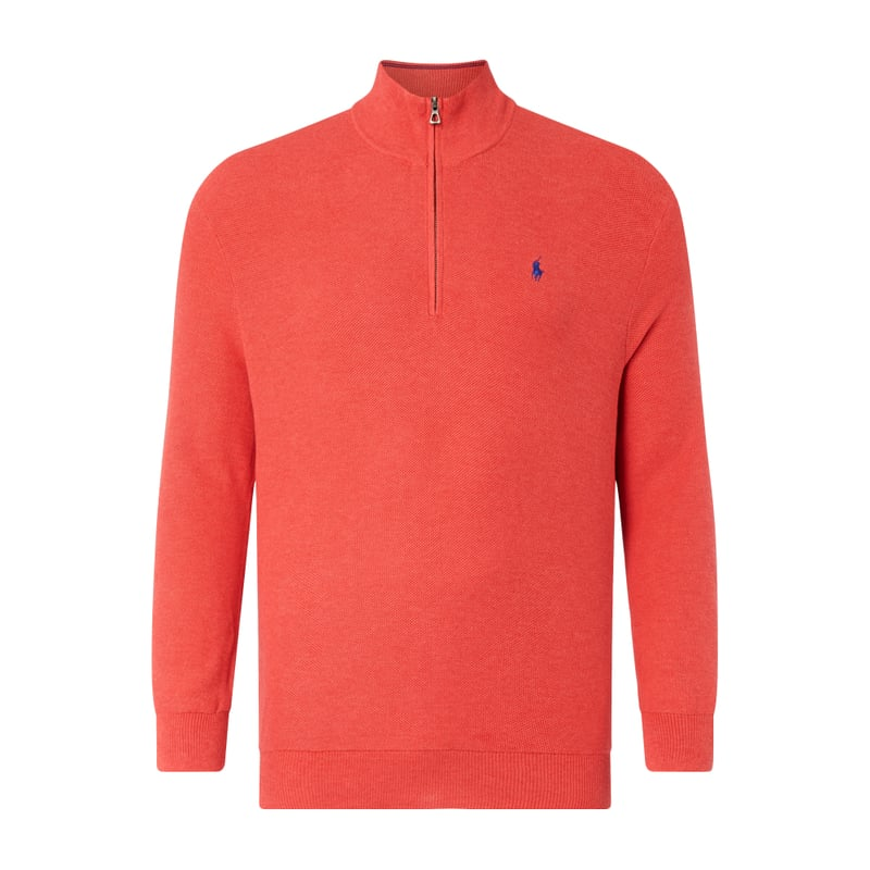 PLUS SIZE Troyer aus Baumwolle | Bekleidung > Pullover > Troyer | Polo Ralph Lauren Big & Tall