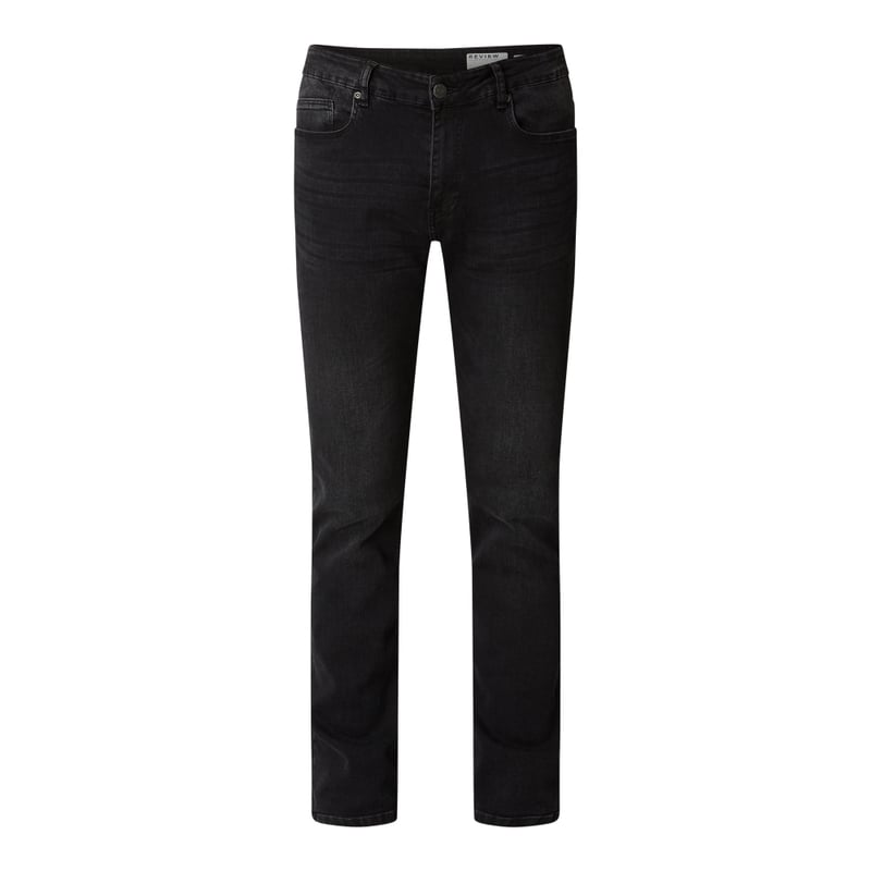 Slim Fit Jeans mit Stretch-Anteil | Bekleidung > Jeans > Slim Fit Jeans | REVIEW