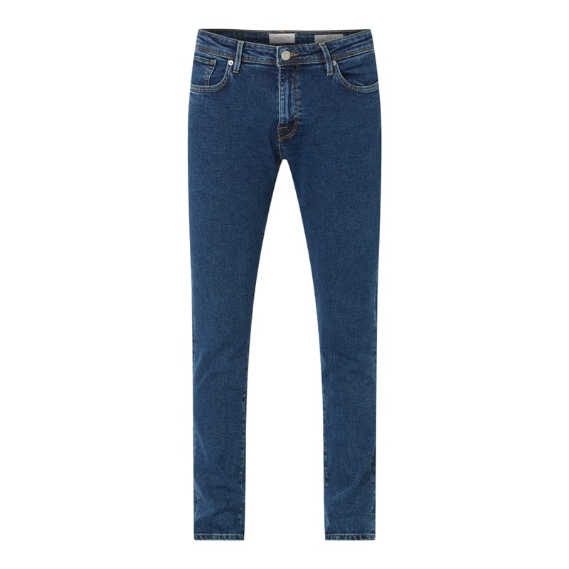 Slim Fit Jeans aus Organic Cotton und Elasthan Modell 'SLHSLIM' | Bekleidung > Jeans > Slim Fit Jeans | Selected Homme
