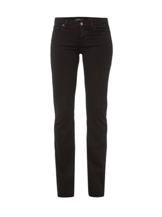 Coloured Skinny Fit Bootcut Jeans Grau / Schwarz - 1