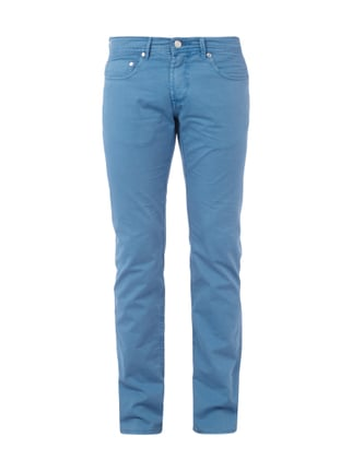 Coloured Regular Fit Jeans Blau / Türkis - 1