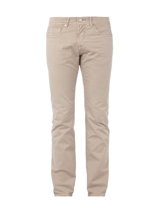 Coloured Regular Fit Jeans Weiß - 1