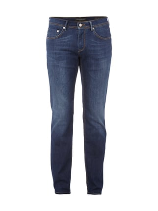 Regular Fit Jeans im Rinsed Washed-Look Blau / Türkis - 1