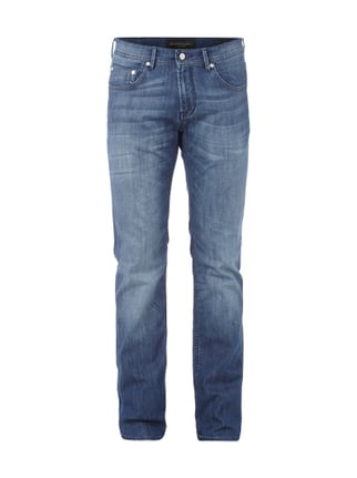 Regular Fit Jeans mit Stretch-Anteil Blau / Türkis - 1