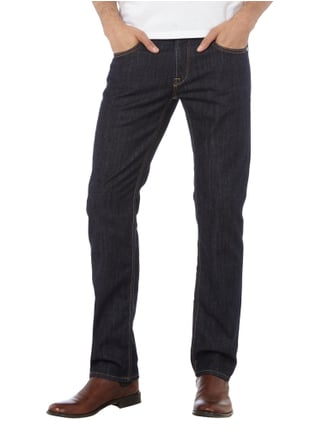Baldessarini Regular Fit Stone Washed Jeans Marineblau - 1