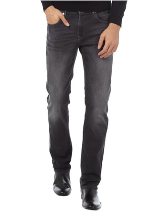 Baldessarini Stone Washed Regular Fit Jeans Mittelgrau - 1