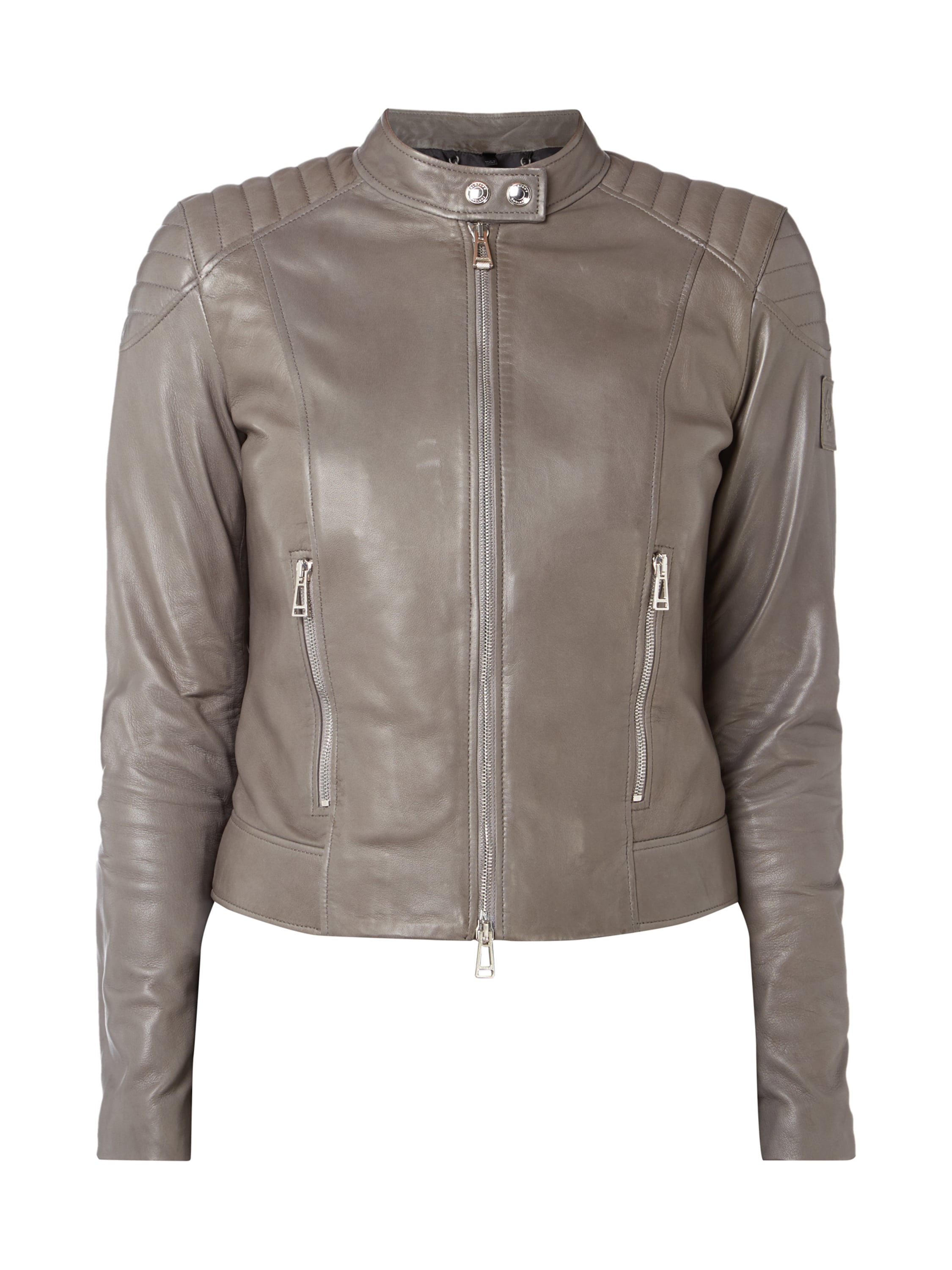 belstaff lederjacke damen mit fell apollo. Black Bedroom Furniture Sets. Home Design Ideas