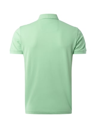 Boss Green Modern Fit Poloshirt mit Logo-Stickerei Hellgrün - 1