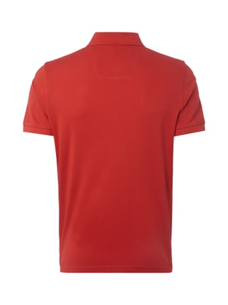 Boss Green Modern Fit Poloshirt mit Logo-Stickerei Rot - 1