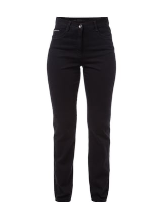 Feminine Fit Jeans aus Coloured Denim Grau / Schwarz - 1