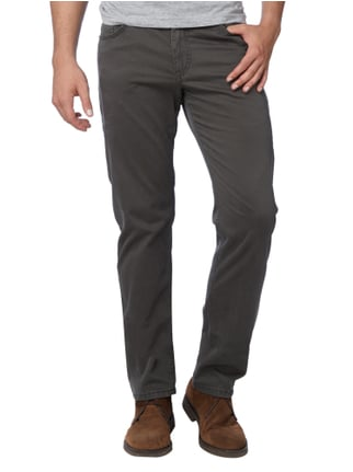 Brax Regular Fit 5-Pocket-Hose mit Stretch-Anteil Dunkelgrün - 1