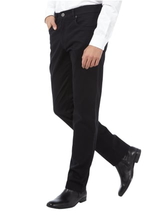 Brax Regular Fit 5-Pocket-Hose mit Stretch-Anteil Schwarz - 1