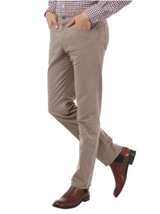 Brax Regular Fit 5-Pocket-Hose mit Stretch-Anteil Stein - 1