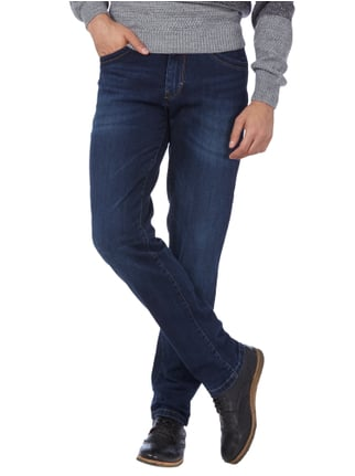 Brax Stone Washed Straight Fit 5-Pocket-Jeans Jeans - 1
