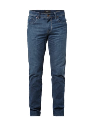 Straight Fit 5-Pocket-Jeans Blau / Türkis - 1