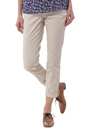 Cambio 5-Pocket-Hose mit Stretch-Anteil Beige - 1