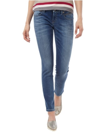Cambio Skinny Fit Jeans im Used Look Jeans - 1