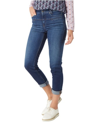 Cambio Stone Washed High Waist 5-Pocket-Jeans Jeans - 1
