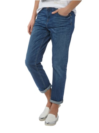 Christian Berg Woman Boyfriend Fit Jeans im Stone Washed-Look Jeans - 1