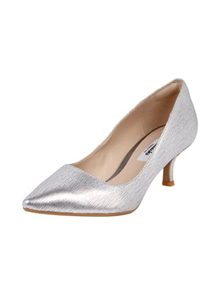 Pumps in Metallicoptik Gelb - 1