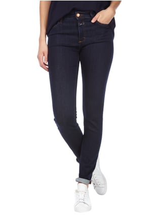 Closed Rinsed Washed Skinny Fit Jeans Blau - 1