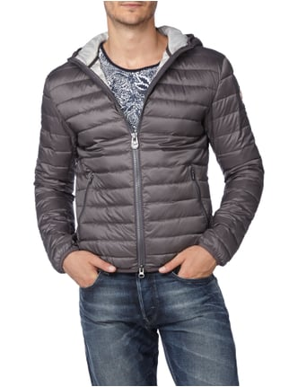 Colmar Originals Light-Daunenjacke mit Kapuze Graphit - 1