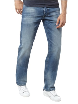 Diesel Regular-Straight Fit Stone Washed Jeans Jeans - 1