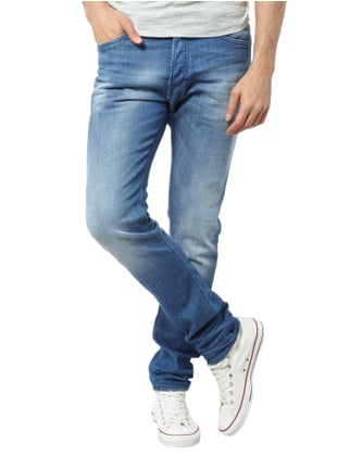 Diesel Slim Fit Stone Washed 5-Pocket-Jeans Jeans - 1
