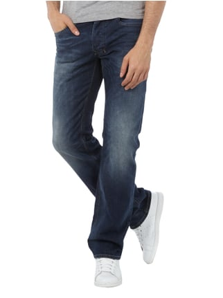 Diesel Stone Washed Regular-Straight Fit Jeans Jeans - 1