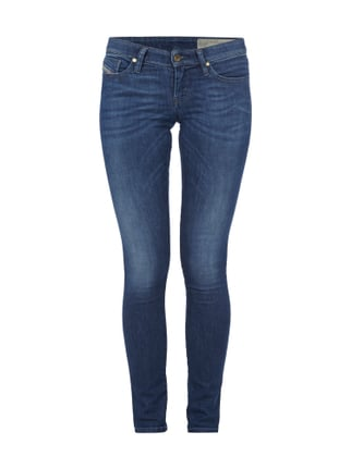 Stone Washed Super Slim-Skinny Fit Jeans Blau / Türkis - 1