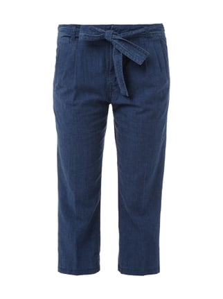Relaxed Fit Ankle Cut Jogpants Blau / Türkis - 1