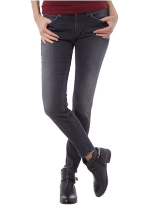 Drykorn Stone Washed Skinny Jeans Anthrazit - 1