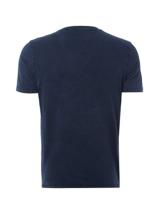 Drykorn T-Shirt im Washed Out-Look Dunkelblau - 1