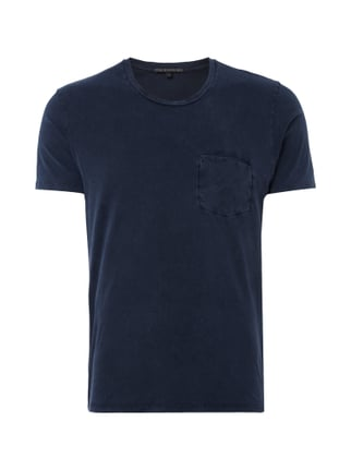 T-Shirt im Washed Out-Look Blau / Türkis - 1
