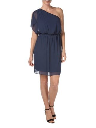 Esprit Collection Cocktailkleid mit One-Shoulder-Träger in Blau / Türkis - 1