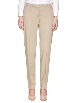 Esprit Collection Stoffhose mit Stretch-Anteil Sand - 1