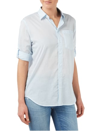 G-Star Raw Boyfriend Fit Bluse - leicht transparent Hellblau - 1