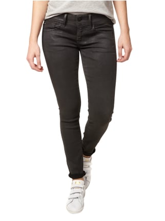 G-Star Raw Coated Skinny Fit Jeans Schwarz - 1