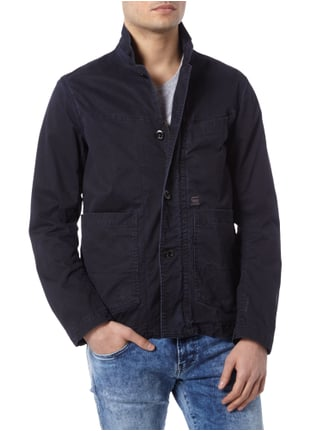 G-Star Raw Jacke im Used Look Marineblau - 1