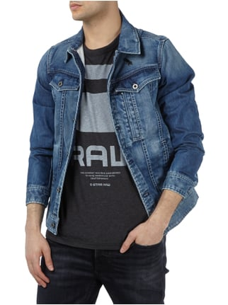 G-Star Raw Jeansjacke mit Message-Print Jeans - 1