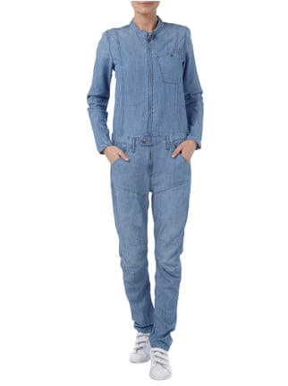 G-Star Raw Jeansoverall im Stone Washed-Look in Blau / Türkis - 1
